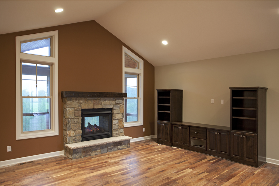 Double And Triple Sided Fireplaces ...